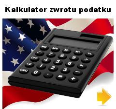 oblicz zwrot podatku z USA